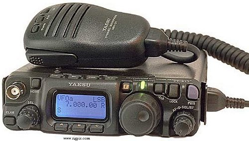 FT-817ND radio