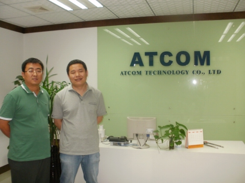 Peter and Mr Lee from Atcom